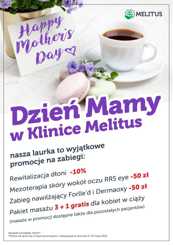promocje na dzien matki klinika melitus warszawa